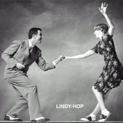 lindy-hop couple